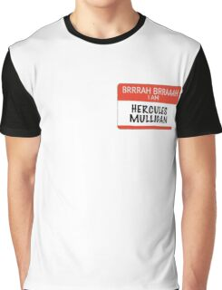 Hercules Mulligan Graphic T-Shirt