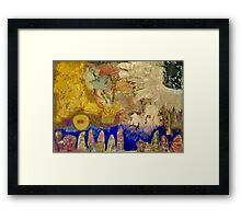 NATIVITY  Framed Print