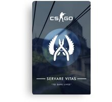 CSGO Poster | Servare Vitas Canvas Print