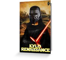 Kylo Renaissance Greeting Card
