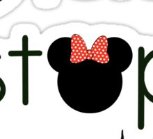 Never Stop Dreaming Minnie Sticker