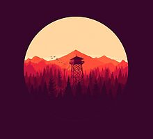 Firewatch - version 2 by Supreto