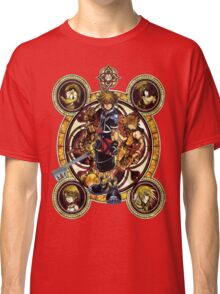 Kingdom Hearts Sora stained glass Classic T-Shirt