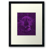 Dark Fairy 1 Pink Framed Print