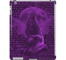 Dark Fairy 1 Pink iPad Case/Skin