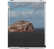 The Bass Rock and Lighthouse iPad Case/Skin