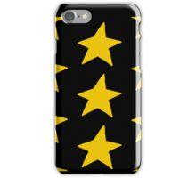 Gold stars iPhone Case/Skin