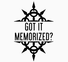 Got It Memorized? - Black Unisex T-Shirt