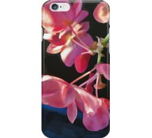 Winter Begonia iPhone Case/Skin