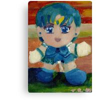 Sailor Mercury Chibi Canvas Print