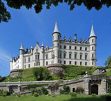 Dunrobin Castle and Garden by Maria Gaellman