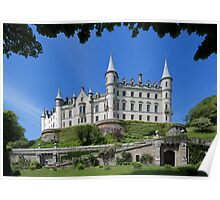 Dunrobin Castle and Garden Poster