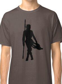 Rey Silhoutte (Black) Classic T-Shirt