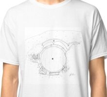 Hobbit- Bag End Hand Drawn Classic T-Shirt