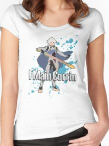 I Main Corrin (Male) - Super Smash Bros Women's Fitted Scoop T-Shirt