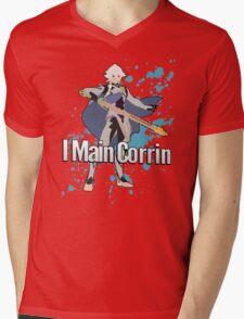 I Main Corrin (Male) - Super Smash Bros Mens V-Neck T-Shirt