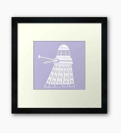 Dalek- Doctor who  Framed Print
