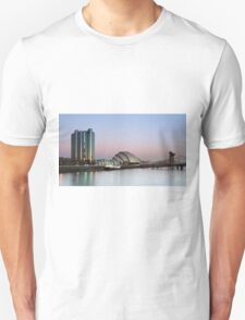Glasgow River Clyde at Sunrise T-Shirt