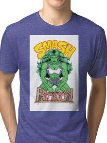 She-Hulk: Smash Patriarchy!  Tri-blend T-Shirt