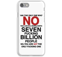 Seven Billion People iPhone Case/Skin
