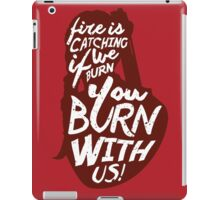 Hunger Games Quote iPad Case/Skin