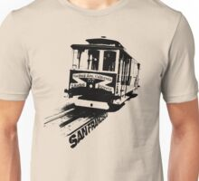 San Francisco, Cable Car Unisex T-Shirt