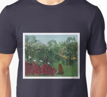 Henri Rousseau - Tropical Forest With Monkeys Unisex T-Shirt