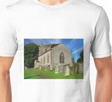 St Margaret's Church, Wetton Unisex T-Shirt