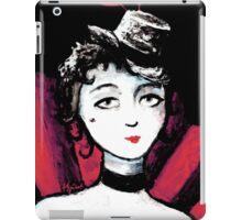 Burlesque Dancer Painting iPad Case/Skin