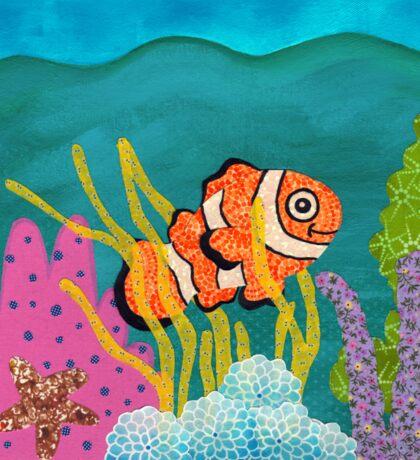 Clownfish Duvet  Sticker