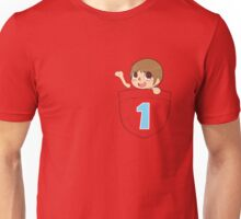Villager In A Pocket Unisex T-Shirt
