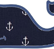Vineyard Vines Anchor Pattern by alexysmarie