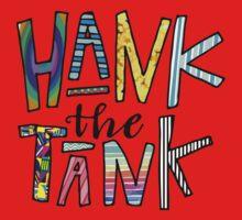 HANK the TANK! One Piece - Short Sleeve