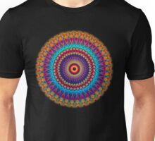 Fire and Ice Mandala Unisex T-Shirt
