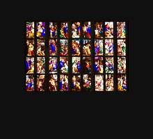 Colourful stained-glass windows in Milan Cathedral, ITALY T-Shirt