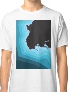 PIOMBINO COAST MAP Classic T-Shirt