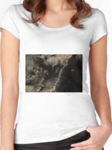 Mystical Forest Stream Women's Fitted Scoop T-Shirt