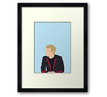 Peeta vector Framed Print