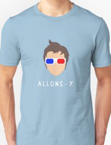 "Doctor Who - 10th Doctor ""Allons-y"" T-Shirt"