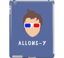 """Doctor Who - 10th Doctor """"Allons-y"""" iPad Case/Skin"""