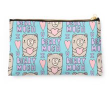 I LOVE YOU BEARY MUCH! Studio Pouch