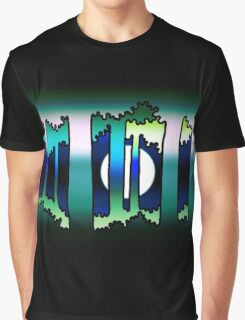 Moon through the trees Graphic T-Shirt