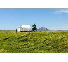 Little School On The Prairie  Photographic Print