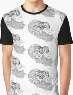 Mixed Puzzle Pieces  Graphic T-Shirt