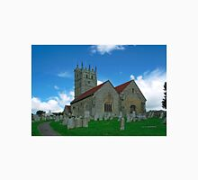 St Mary's Church, Carisbrooke  Unisex T-Shirt