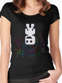 Captain Veridian... and the Colors of Space [VVVVVV] Women's Fitted Scoop T-Shirt