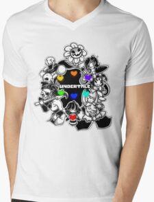 Undertale Mens V-Neck T-Shirt