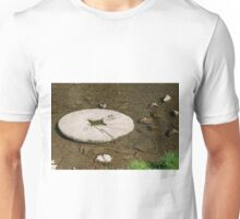 Millstone in the River Dove, Milldale Unisex T-Shirt