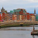 Dublin On The River Liffey by Mary Carol Story