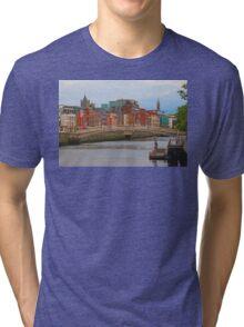 Dublin On The River Liffey Tri-blend T-Shirt